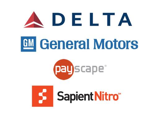General Motors, Payscape, Sapient Nitro, Delta