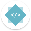 Web development bootcamp logo